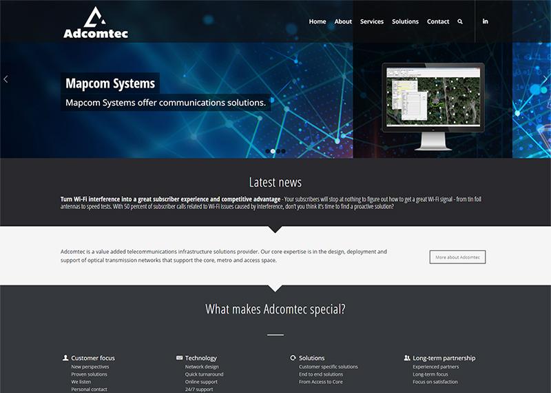 Adcomtec website