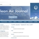 Clean Air Journal website