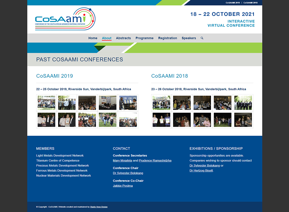 CoSAAMI website content page