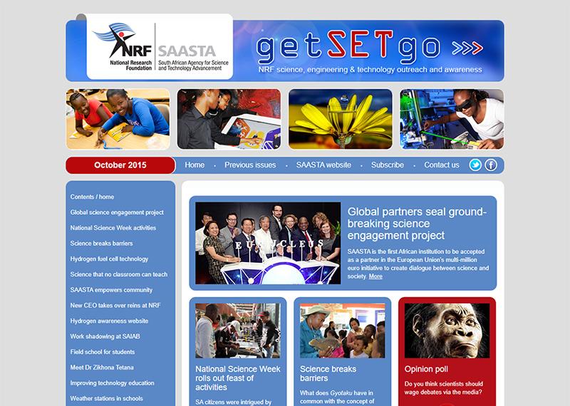 SAASTA getSETgo newsletter
